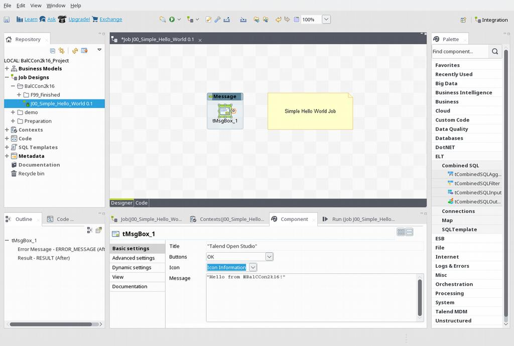 talend new features