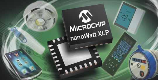 extreme Low Power MCUs Maximize Battery Life PIC MCUs with nanowatt XLP Extend the battery life in your application using PIC MCUs with nanowatt XLP Technology and get the industry s lowest currents