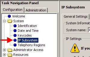 Published IP Address The Published IP Address is the address that IP Telephones should register against, being the S1 and S2 (dependent on network setup) addresses configured during the registration