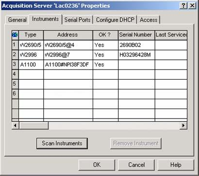 18. If you are adding another A1100 system, physically connect it as described at the beginning of this procedure. Select the Configure DHCP tab (Figure 1) and select the Configure DHCP button.