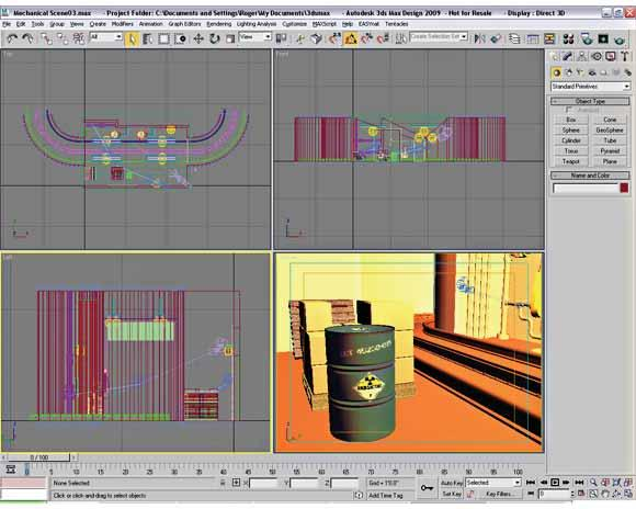 Lesson: User Interface Overview In this chapter, you will learn about the 3ds Max and 3ds Max Design user interface.