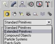 Next you ll create another object, this time using the Command Panel. 6. Click the Create Tab on the Command Panel. 7. Click the Geometry button. 8.