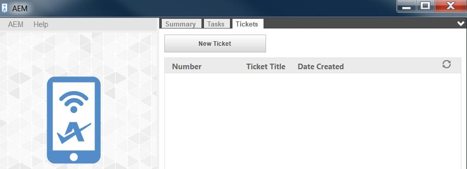 Create a Ticket in the Agent Browser In addition to the Web Portal, tickets can also be created in the Agent Browser.