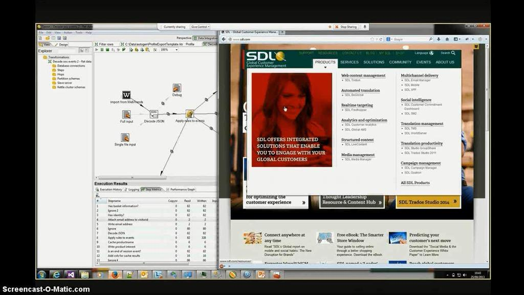 SDL Campaigns and SDL Web with Webtrends Streams This generates a stream of product interest events Initially the visitor