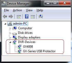 Installing Drivers After installing the GV-4008 Card in the computer, insert the software DVD to install GV- Series drivers. The DVD will run automatically and an installation window will pop up.