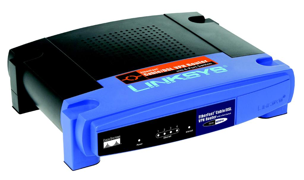 VPN Router with 4-Port 10/100