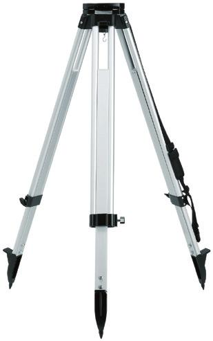 aluminium elevator tripod with a shoulder strap, quick-action clamps and a circular level, minimum working height 84 cm, maximum extension length 246 cm (including an