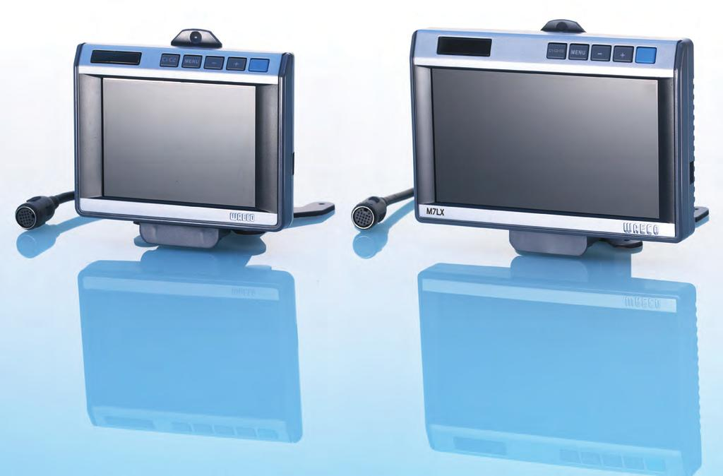 2 PERFECT VIEW SOLUTIONS READY-TO-INSTALL SYSTEMS FOR EVERY DEMAND WAECO PerfectView LCD monitors provide perfect picture quality in two versions WAECO PerfectView LCD monitors feature advanced LED