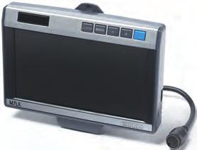 Scope of delivery - 7 LCD colour monitor includes Easylink monitor mount, colour  Distance marks on the monitor B C C A D The adjustable distance marks clearly show which obstacles