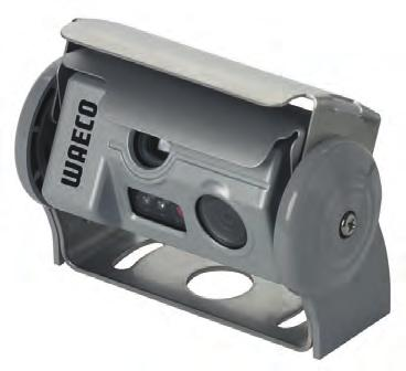 powered camera cover protects against dirt and damage Compact size Microphone LDR-controlled IR LEDs for improved night vision Mounting bracket included in the delivery kit Wide-angle lens with large