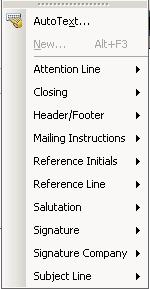 Auto Text Definitions Word Auto Text Definition (Per Microsoft Help) A storage location for text or graphics you want to use again, such as a standard clause or a long distribution list.