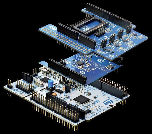 STM32 Open Development Environment Building block approach 22 The building blocks Your need Our answer Accelerometer, gyroscope Inertial modules,