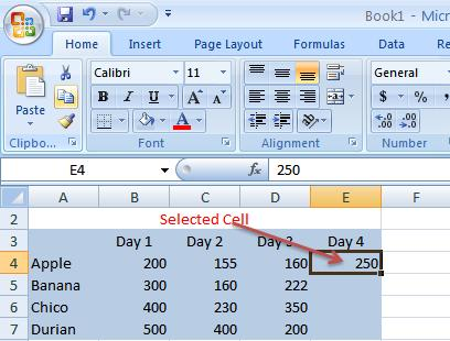 26 THE PNP BASIC COMPUTER ESSENTIALS e-learning (MS Excel 2007) Select the cell or cells where you want to paste the