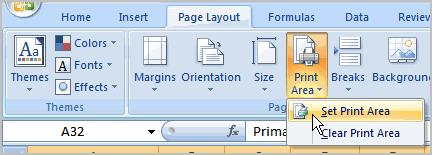 Scale to Fit is a useful feature that can help you format spreadsheets to fit on a page. Be careful with how small you scale the information -- it can become difficult to read!