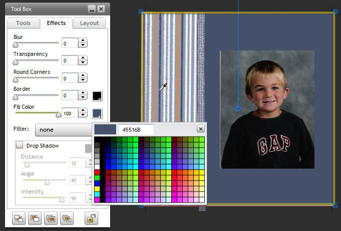 Select Fill Color then run the dropper tool across the exact color you wish to match.