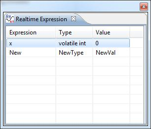 Real-Time Expression View