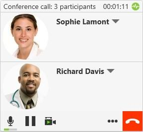 Audio and video calls Conference calls Using right-click or CONTROL+click 1.