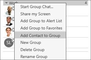 Contacts Populating contacts Group.