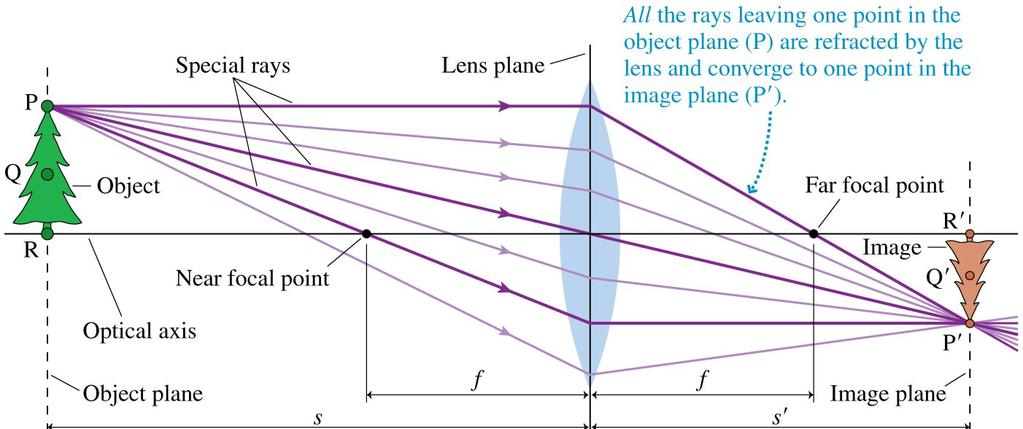 Thin Lenses: Ray Tracing Rays