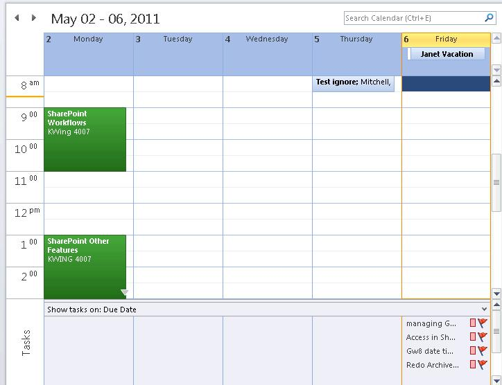 View Description Image Day You to see the day s schedule by hour as well as the tasks View Description