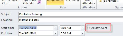 Click on the Calendar button in the Navigation Pane. 2. Click the New Appointment button on the Home Ribbon. 3.