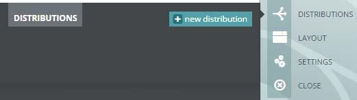 Under Manage on the right side, click Distributions. 3. You are prompted to create a new distribution. 4.