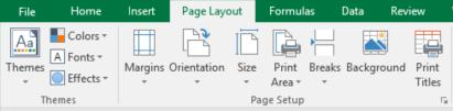 You can also create a format for a worksheet before entering the data. Begin by selecting the range to format by clicking and dragging your mouse over the area.