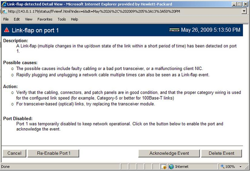 on ports that are at the client edge of the network, because link state changes there are frequent and expected.