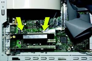 Before connecting the PCI Adapter to your PC, turn off your desktop PC. 2. Open your PC case and locate an available PCI slot on the motherboard.