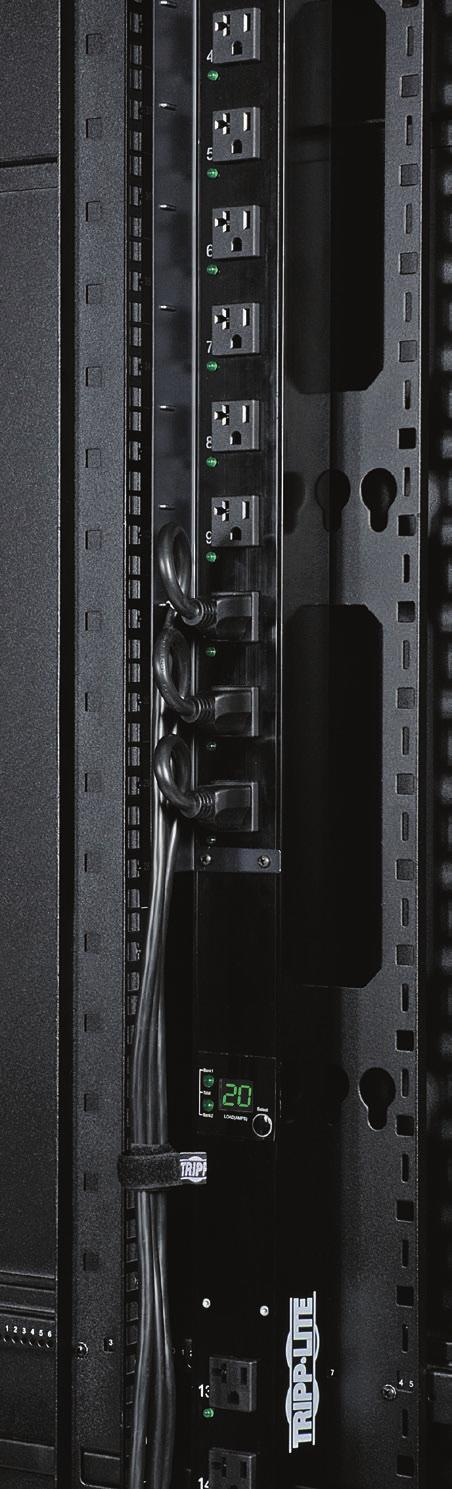 INTRODUCTION Tripp Lite Rack increase the availability, efficiency and manageability of equipment in data centers and other high-density IT environments.