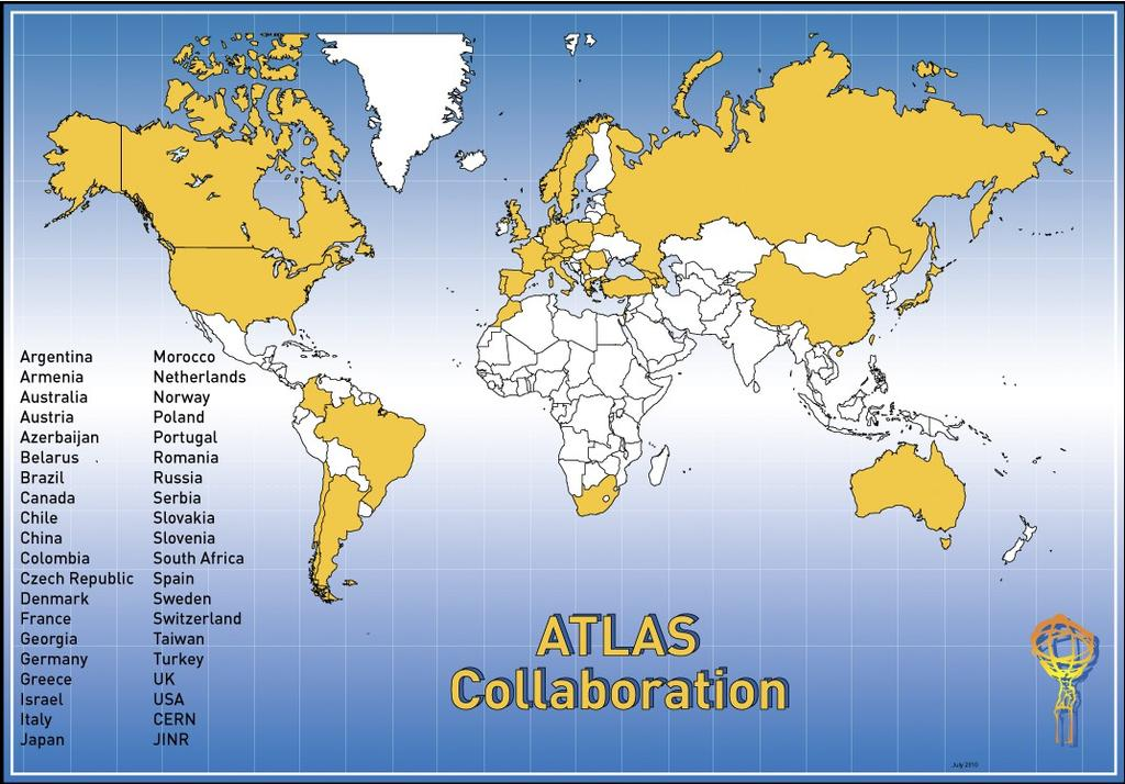 ATLAS experiment Explores the fundamental nature of matter and the forces that shape our universe by studying proton-proton collisions at very high energy at the Large Hadron Collider (LHC) in