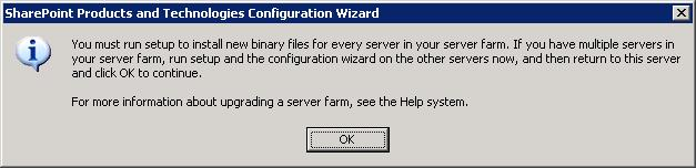 Deployment Options In Place Single server Basic installation Automatic updates In place installation for a farm Install the update on each server