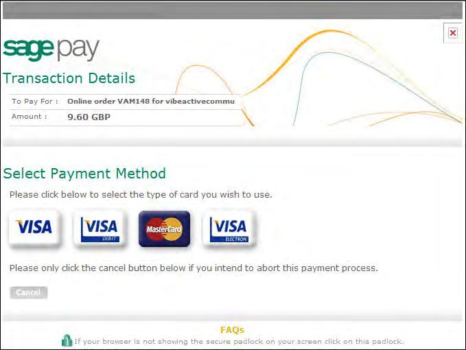 Transaction details will