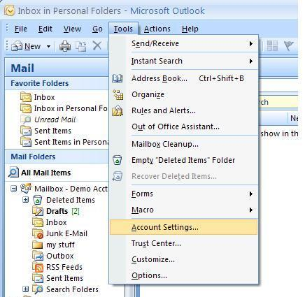 How to Move Mail From Your Old POP Account To Exchange Using Outlook 2007 This tutorial shows you how to move your mail, calendar and contacts from an outlook 2007 pop account connected to the old