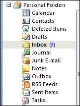 6) Next let s move your inbox items from your outlook pop account over to exchange.