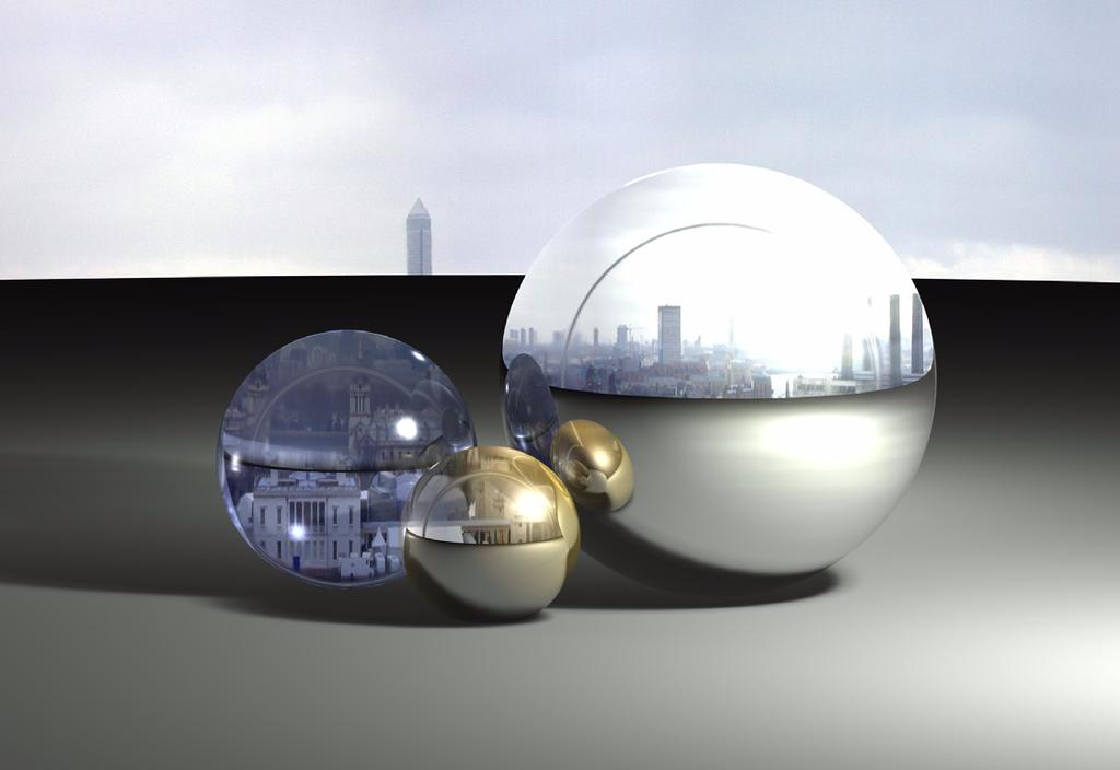 Photo-realism Fundamentals Background Image vs. Sky Dome Sphere Cobalt, Xenon and Argon allow you to place an image in the Photo Render>Texture folder, then from the PhotoRender>Edit Background.