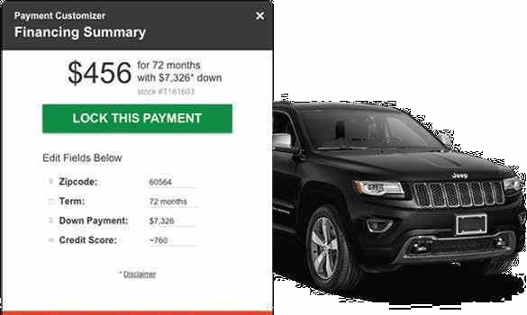 Dynamic OEM Lease and Finance Payments Your Dealer Inspire website constantly updates to display the latest lease offers from your manufacturer, so you don