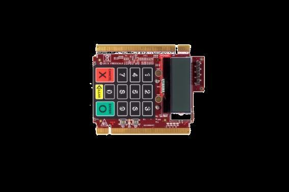 Chip-and-PIN keypad based on Cirque SecureSense technology (PCI PTS compliant