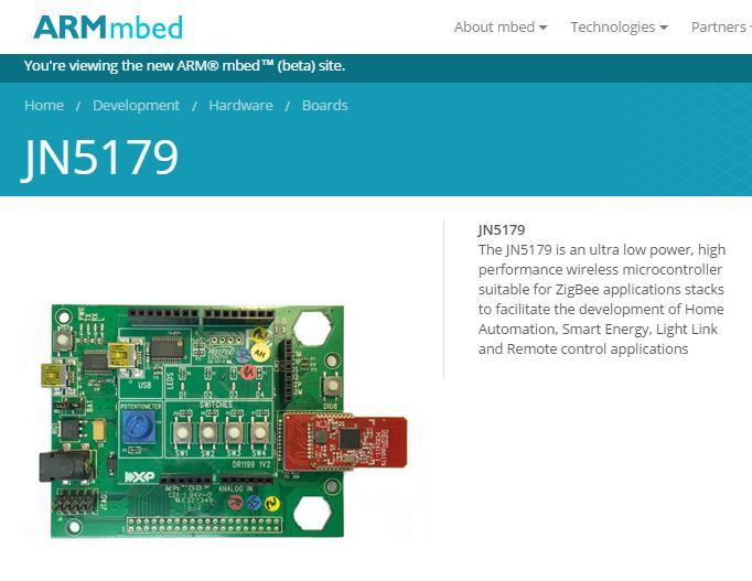 mbed Thread Platforms End Node FRDM-MCR20A The Freescale Freedom