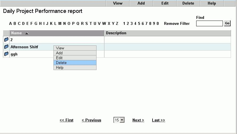 Introduction to Standard and Advanced Reports Printing Advanced Reports 3 Click OK. The report appears in a browser window.