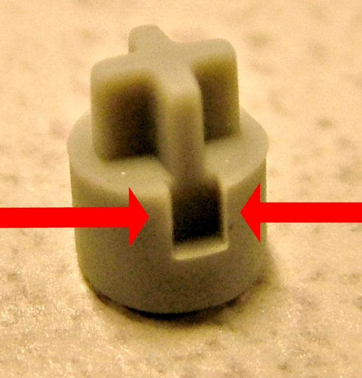 Fig. 13 Keyed rubber stopper.