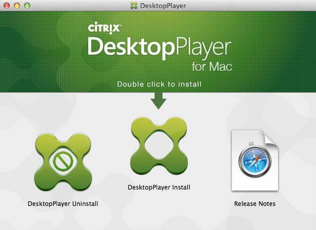Install DesktopPlayer After preparing your Mac, follow the information in this section to install DesktopPlayer: 1.