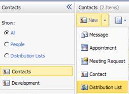 If you wish to find someone in your personal contacts, click Contacts and use the same method. 8.