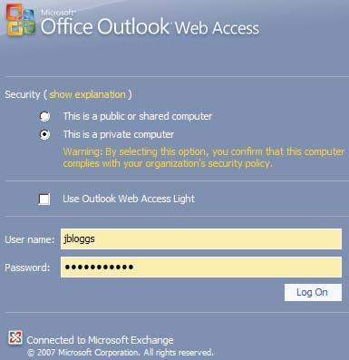 ACCESSING MAIL USING OUTLOOK WEB ACCESS 1 Open your browser 2 In the Address or Location line type https://staffmail.uow.edu.