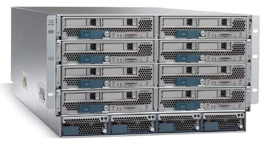 Unified Computing System (UCS) Vblock Chassis Configuration Cisco UCS 5100 Series Blade Server Chassis (8) Blades per chassis (2)