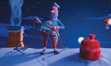 AA studio Santa Clauses Trains Technique 3D Genre animation Timing 73 00 Producer Mitroshenkov A., Ovannisyan A., Gyuzalyan N. Script writer Kozirev O. Director Sakov V.