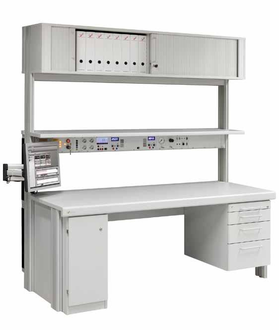 Shelf unit racks Dimensions For racks with terminal technology 821 451 353 Material Shelf racks can be used to store devices and files.