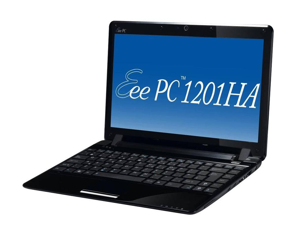 Eee PC 1201HA Overview and Components The ASUS Eee PC 1201HA is a product combining the power of Intel 9l0GML In this section, an overview for the Eee PC 1201HA, along with its components, will be
