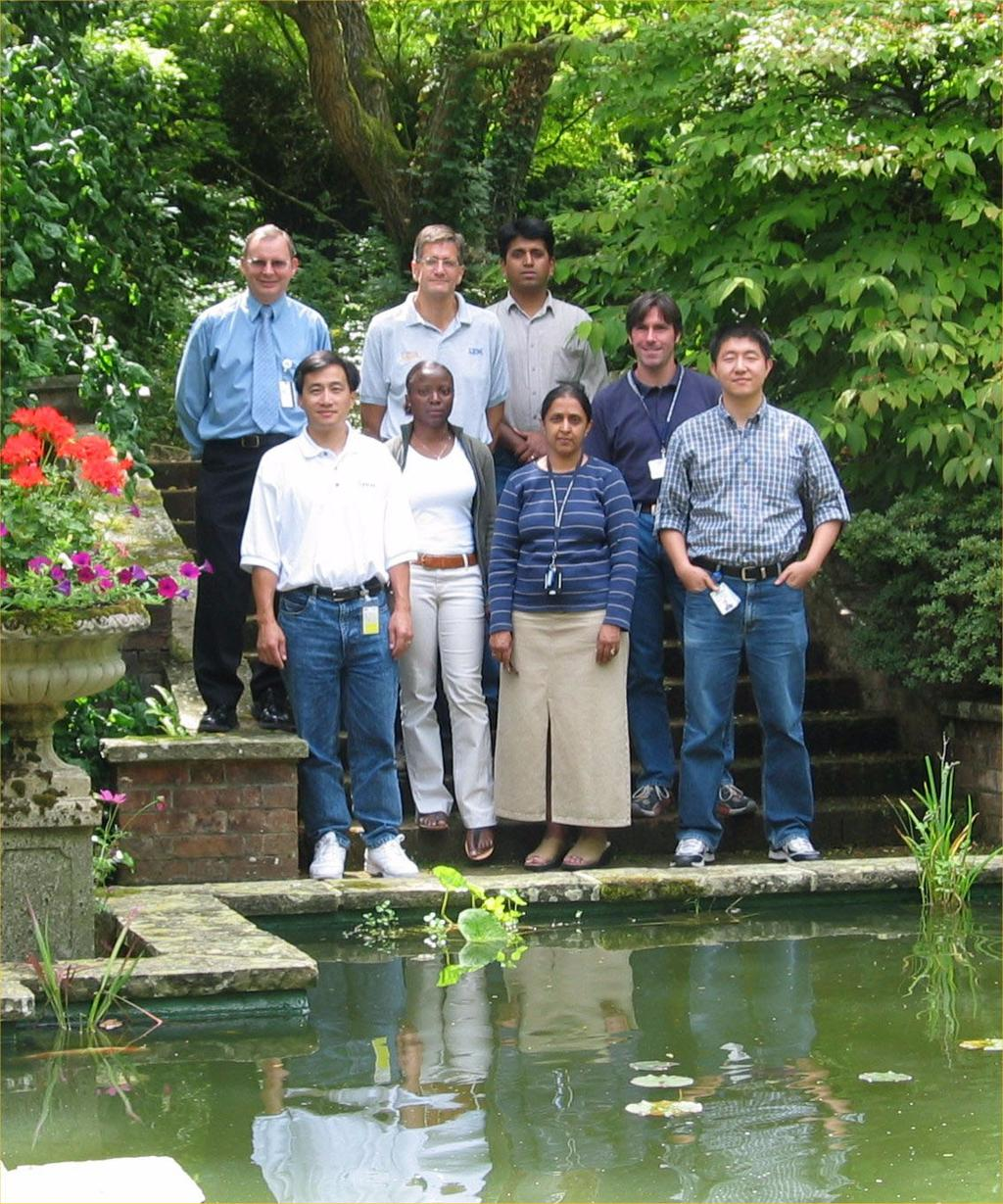 The authors Top row from left: Andrew, Jerry, Sachin, Michael Bottom row from left: Tony, Ope, Saida, Dong Kai Saida Davies is a Project Leader for ITSO Hursley UK.