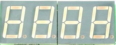 7-SEG Display Interfacing Seven Segment with LPC2148 We now want to display a four digit number in LPC2148 Slicker Board by using seven segment displays.